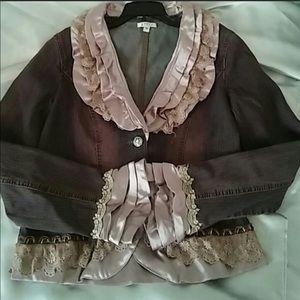 Jackets & Blazers - One Of A Kind Dress Up Jean Jacket